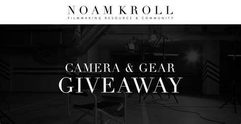 Camera Gear Giveaway - noamkroll 183 com fall camera gear giveaway sweepstakes pit