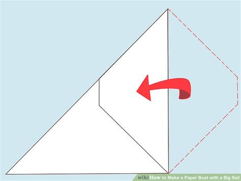 how to make a paper boat pictures how to make a paper boat with a big sail 12 steps with