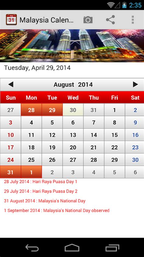 Google Play Gift Card Malaysia - malaysia calendar 2014 2015 android apps on google play