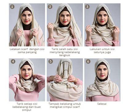 tutorial hijab segi empat chiffon til modis tiap hari dengan 3 tips jilbab segi empat