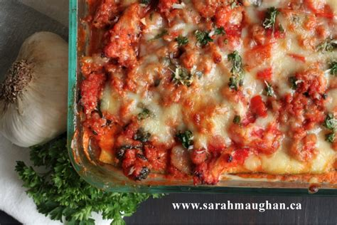 how to make a gluten free zucchini noodle lasagna