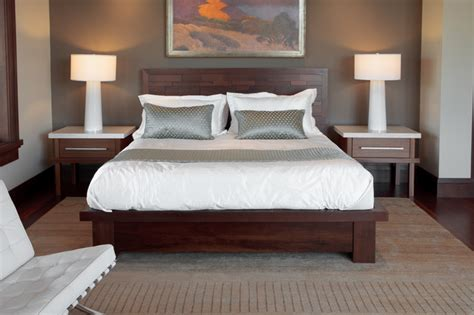walnut bedroom ideas peruvian walnut bed contemporary bedroom salt lake