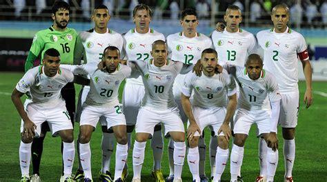 Sleeper Players Football 2014 by Wm Teilnehmer Algerien Makellos Gegen Deutschland Dfb Deutscher Fu 223 Bund E V