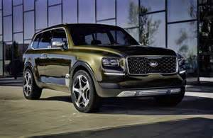 Kia Suv Models Kia Telluride Concept Revealed Possible Large Suv Above