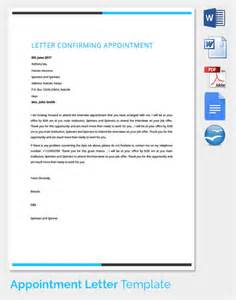 33 appointment letter templates free sample example