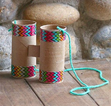Free Toilet Paper Roll Crafts - toilet paper roll binoculars craft allfreekidscrafts