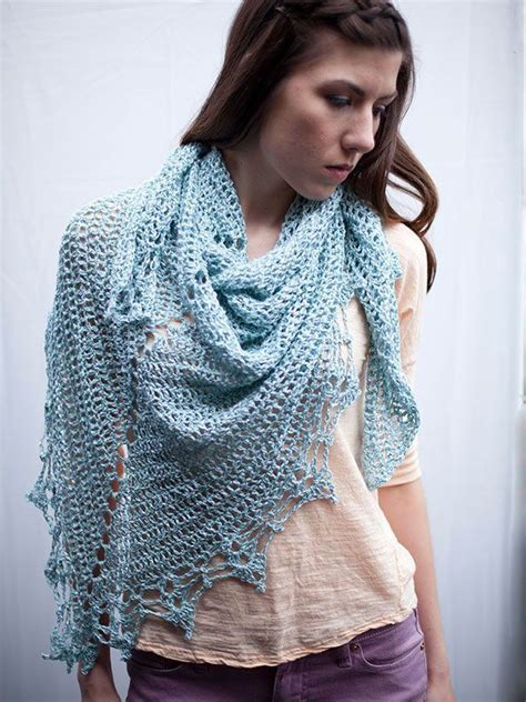 free shawl patterns to knit or crochet free crochet pattern for triangular shawl from berroco