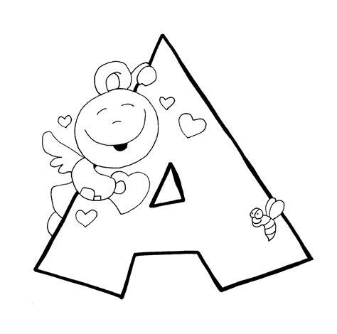 imagenes en blanco grandes compartiendo por amor dibujos abecedario angeles