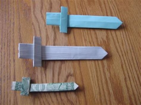How To Make A Sword Out Of Paper - how to make a towel origami snail slideshow
