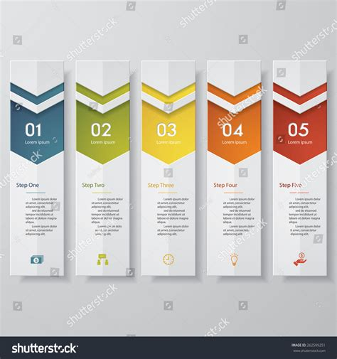 number templates for banners design clean number banners template graphic or website