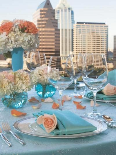 Your Wedding in Colors: Peach and Blue   Arabia Weddings