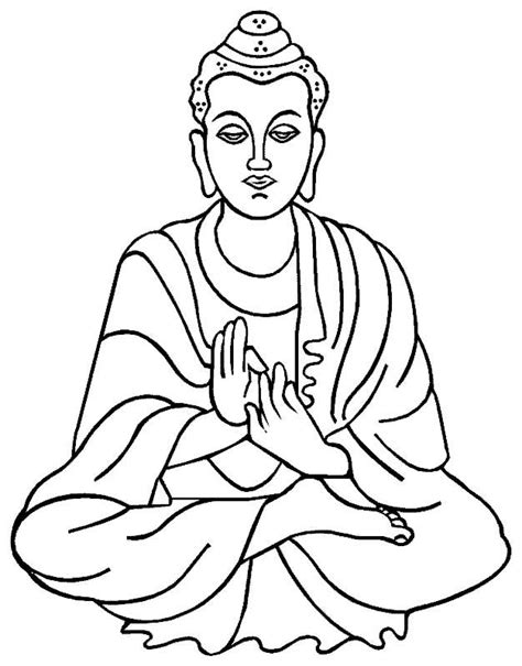 Buddha Coloring Pages 18 best images about drawing buddhas on