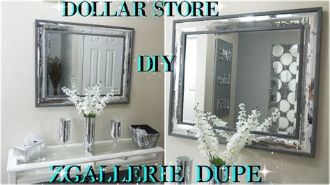 high end home decor diy dollar store 2018 high end mirrored wall decor dupe