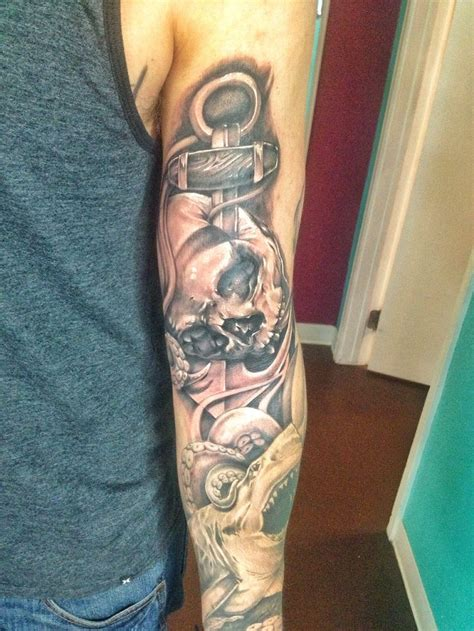 anchored art tattoo 44 best by chris burnett images on dots