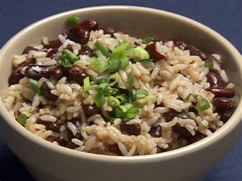 vegetarian bean and rice recipe beans and rice recipe robert irvine food network