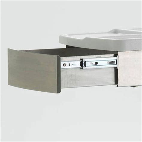 Stainless Steel Cart With Drawer by Locking Stainless Steel Drawer For Go Cart Mobile Draw