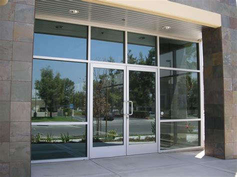 Glass Door For Shop Commercial Glass Glass And Mirror Repair Installation Services In South Florida