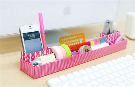 Girly Desk Organizers Diy Mon Bureau Girly Organiser Bureau Girly 2 The
