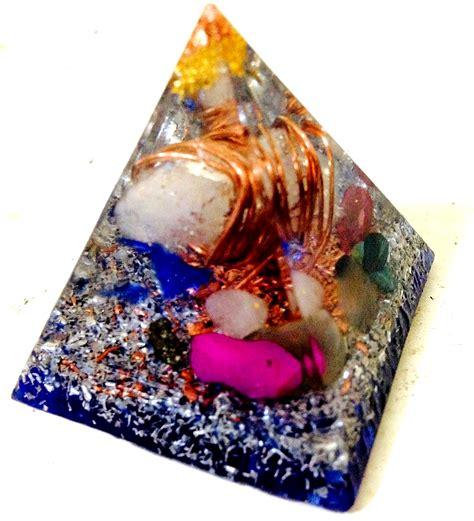 Orgonite Pyramid 1 orgone gemstone orgone pyramid reiki feng shui