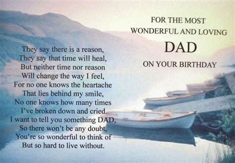 Birthday Card For My In Heaven