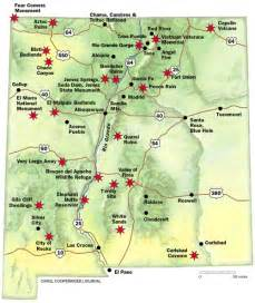 tourist map of mexico maps update 500592 new mexico travel map maps update