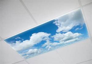 fluorescent light covers sky cloud panels decorative light covers octo lights