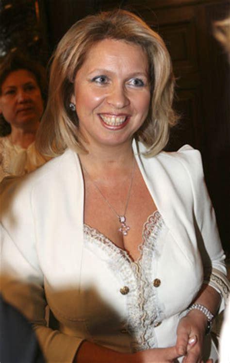 Italian Embassy First Lady Svetlana A Patron Of Arts