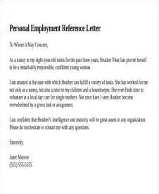 personal references template 12 reference letter templates free sle exle