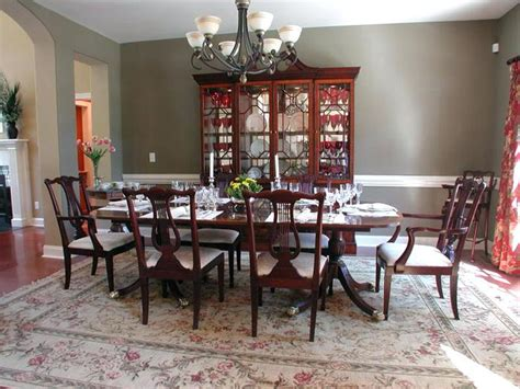 formal dining room table setting ideas room table