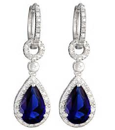 ear rings image sapphire weddings the wedding co