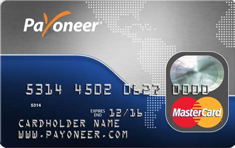 Payoneer Debit Card C 243 Mo Activar Su Tarjeta Payoneer The Payoneer
