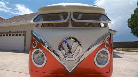 gorgeous custom built cartoon  surf seeker volkswagen microbus