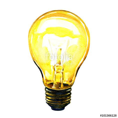 quot glowing yellow light bulb idea concept quot stock photo and