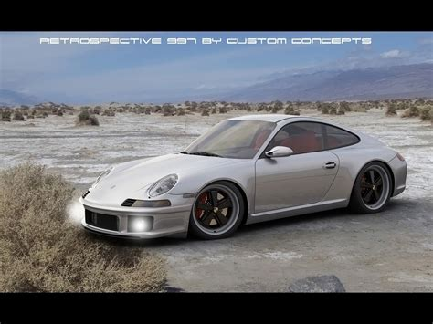 retro porsche custom 2012 custom concepts porsche retrospective 997 by zolland