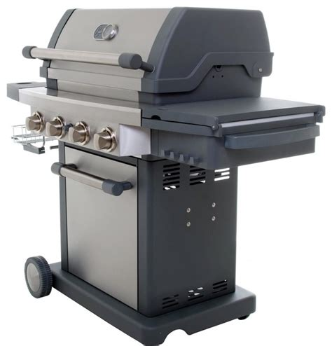 emeril eg300 4 burner propane gas grill by viking culinary group modern outdoor grills new