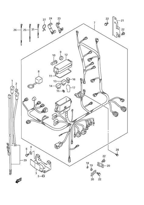 Suzuki Df140 Wiring Diagram Suzuki Df150 Wiring Schematic Suzuki Df 150 Wiring Diagram