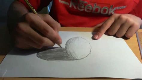 How To Make 3d Pictures On Paper - drawing anamorphic 3d spheres like sidewalk 3d