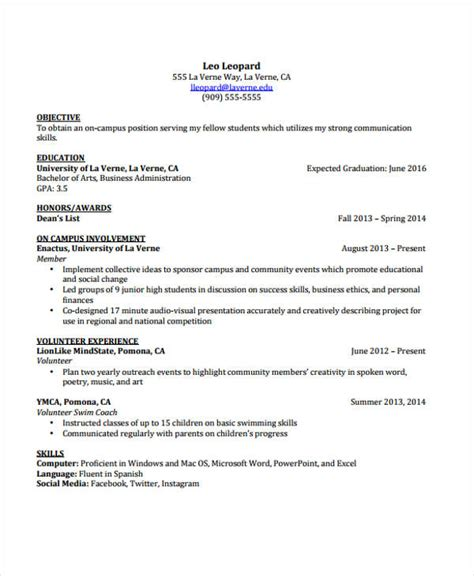 cv template for students word 11 student curriculum vitae templates pdf doc free premium templates
