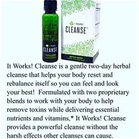 It Works Greens Detox Side Effects 27 it works other back in stock it works 2 day