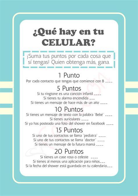 Juegos De Baby Shower by 191 Qu 233 Hay En Tu Celular Juegos De Baby Shower Para