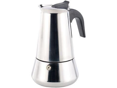 espresso cucina cucina di modena espressokanne edelstahl espressokocher
