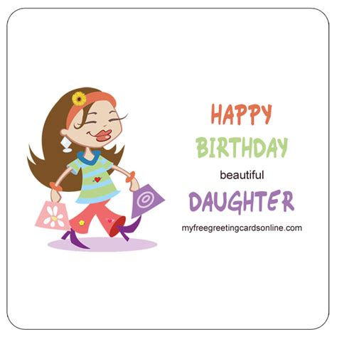 printable anniversary cards from daughter happy birthday beautiful daughter