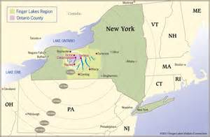 Finger Lakes New York Map by Gallery For Gt Where Is Lake Ontario Located On A Map