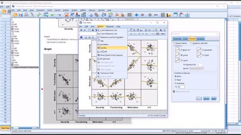 pattern matrix spss youtube creating and interpreting a scatterplot matrix in spss