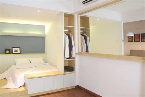 ide desain kamar tempat tidur bergaya minimalis