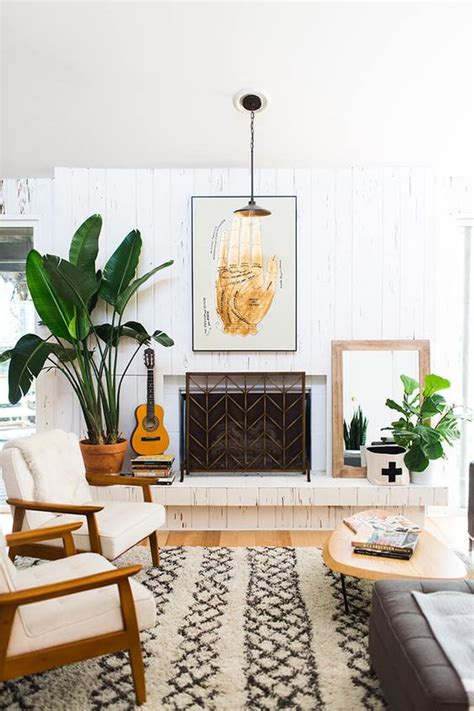 living room plants top 5 mid century living rooms daily dream decor