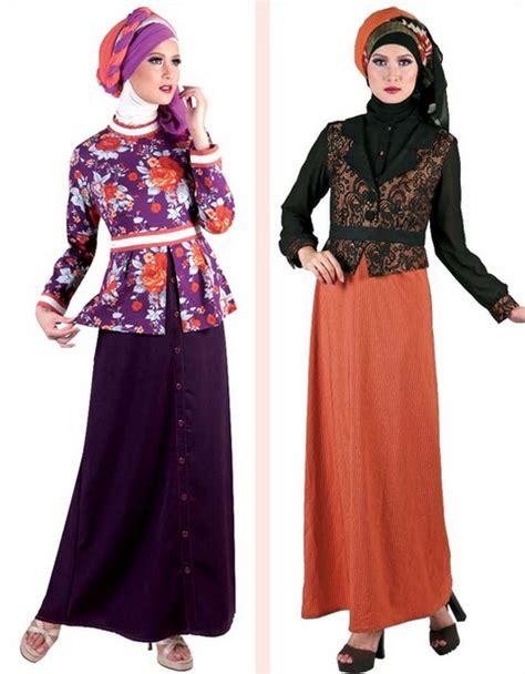 Pakaian Gamis Dress Set 1 15 gambar baju gamis muslim brokat terbaru 2015