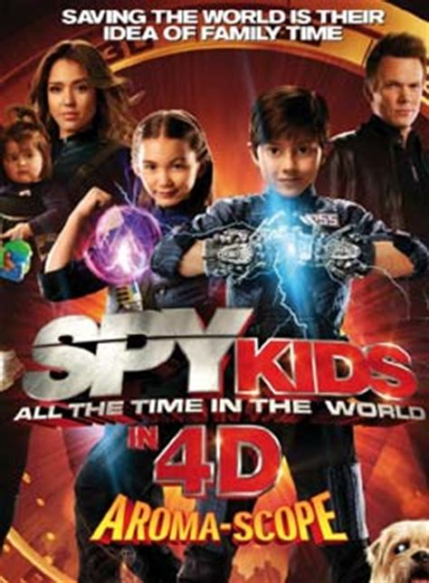 action comedy adventure spy film spy kids a 4d movie you can smell