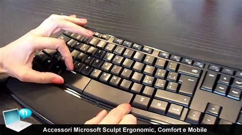 ms sculpt comfort desktop accessori microsoft sculpt ergonomic desktop comfort