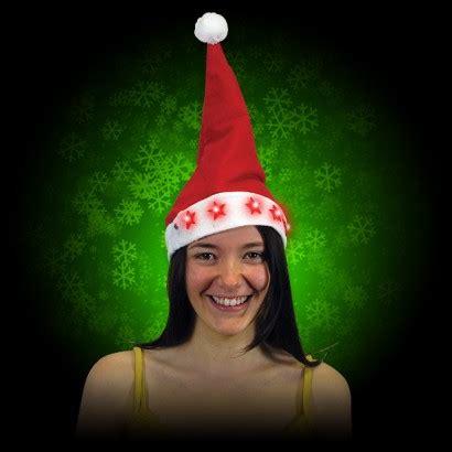 santa hat with lights santa hats